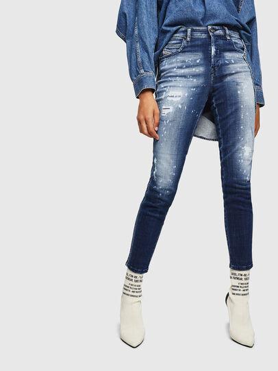 Diesel - Babhila 0091Y, Blu medio - Jeans - Image 1