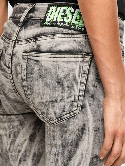 Diesel - Slandy 069NH, Grigio Chiaro - Jeans - Image 3