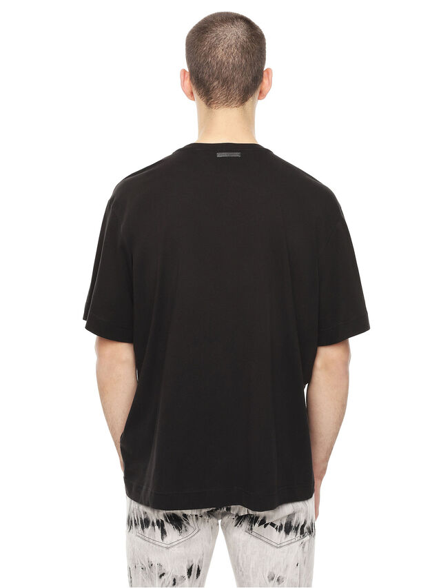 Diesel - TEORIAL-HUNTING, Nero - T-Shirts - Image 2