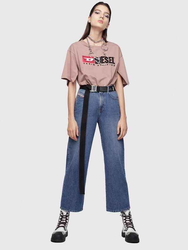 Diesel - Widee 080AN, Blu medio - Jeans - Image 4