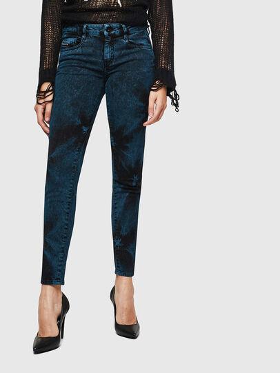 Diesel - D-Ollies JoggJeans 084AF, Nero/Grigio scuro - Jeans - Image 1
