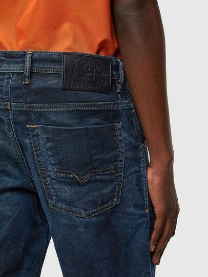 Diesel - D-KROOSHORT-Y JOGGJEANS, Blu Scuro - Shorts - Image 4