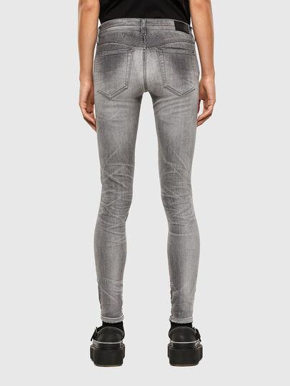 Diesel - Slandy Low 009FD, Grigio Chiaro - Jeans - Image 2
