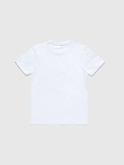 Diesel - TDIEGOS3, Bianco - T-shirts e Tops - Image 2