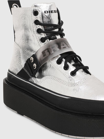 Diesel - H-SCIROCCO STRAP, Argento - Sneakers - Image 4