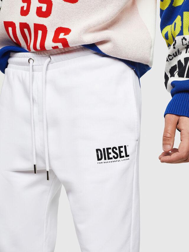 Diesel - P-TARY-LOGO, Panna - Pantaloni - Image 3