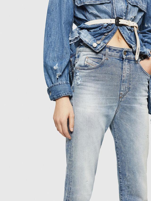 Diesel - D-Eiselle 084AA, Blu Chiaro - Jeans - Image 3