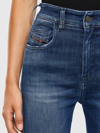 Diesel - Slandy High 009FE, Blu Scuro - Jeans - Image 3