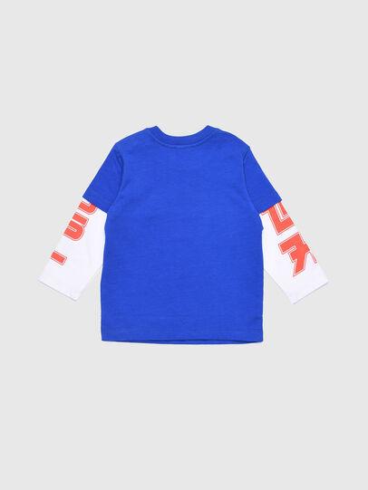 Diesel - TUCOB, Blu/Bianco - T-shirts e Tops - Image 2