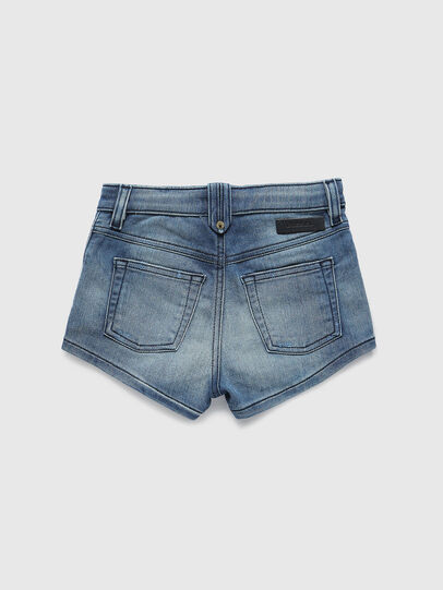 Diesel - PGINGHER JOGGJEANS, Blu medio - Shorts - Image 2