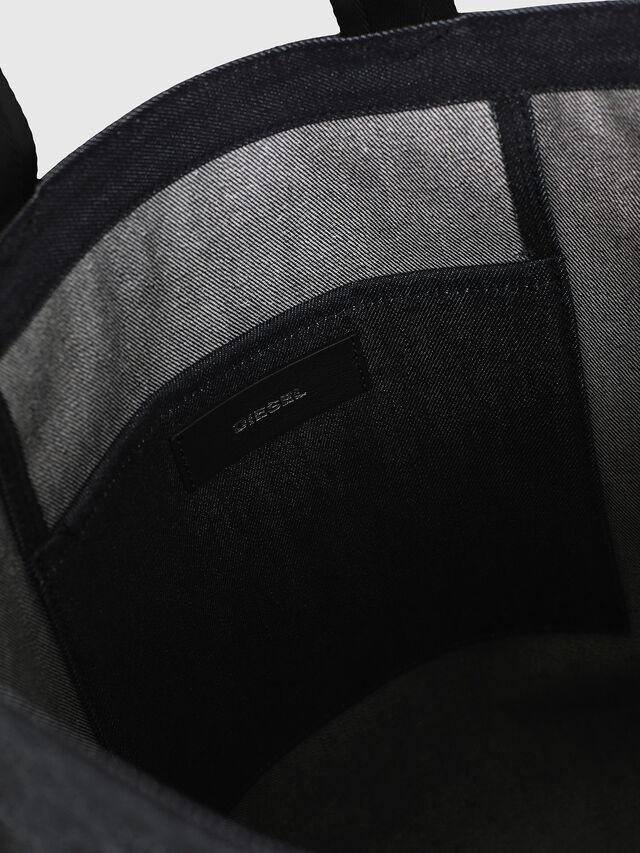 Diesel - F-THISBAG SHOPPER NS, Blu Scuro - Shopper e Borse a Spalla - Image 4