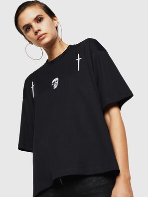 TELIX-A, Nero - T-Shirts