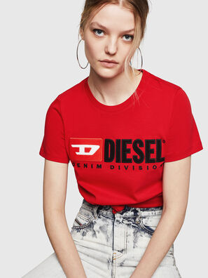 T-SILY-DIVISION, Rosso Fuoco - T-Shirts