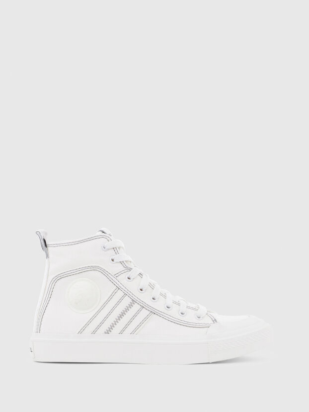 S-ASTICO MID LACE W, Bianco - Sneakers