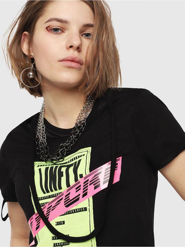 Diesel - T-EMIKO-B, Nero - T-Shirts - Image 4
