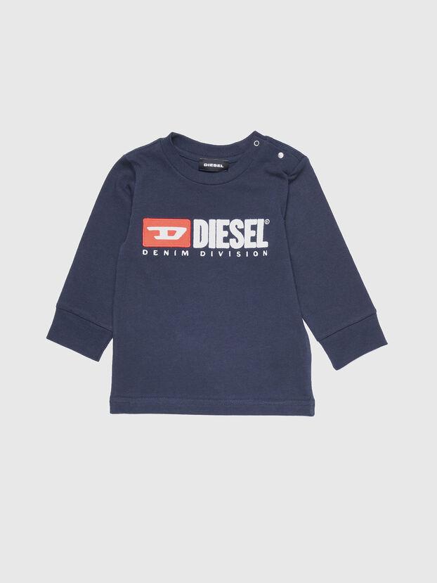 TJUSTDIVISIONB ML, Blu Scuro - T-shirts e Tops