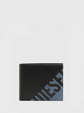 HIRESH S, Nero/Blu - Portafogli Piccoli