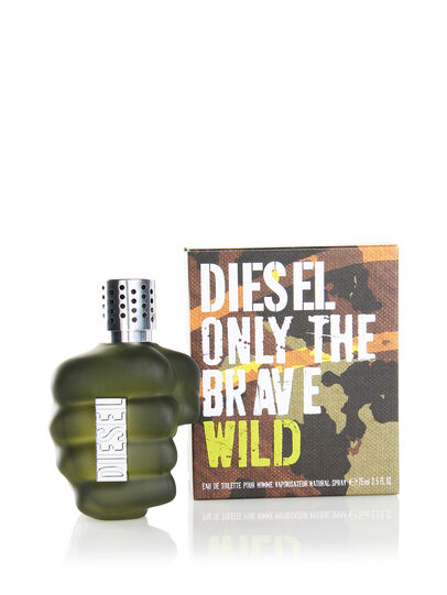 Diesel - ONLY THE BRAVE WILD 75ML, Verde - Only The Brave - Image 2