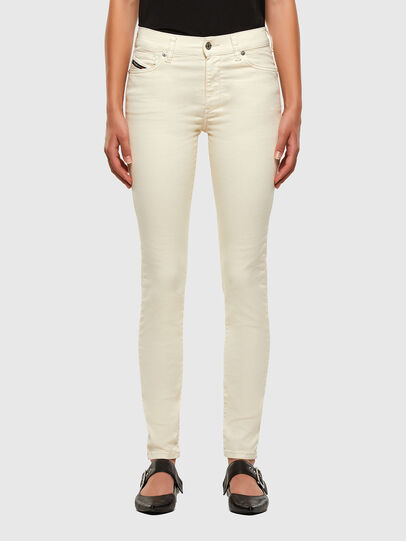 Diesel - D-Roisin 0096H, Bianco - Jeans - Image 1