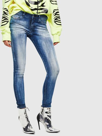 Diesel - Slandy 0095C, Blu medio - Jeans - Image 1