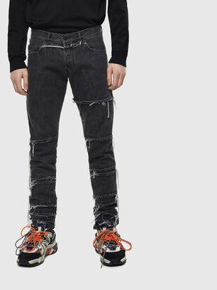 D-Kras 009CD, Nero/Grigio scuro - Jeans