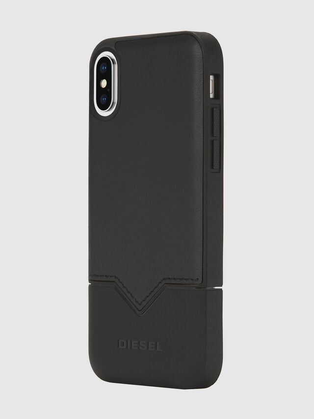 Diesel - CREDIT CARD IPHONE X CASE, Nero - Cover - Image 1