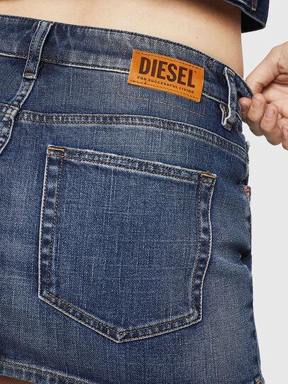 Diesel - DE-EISY, Blu Jeans - Gonne - Image 5