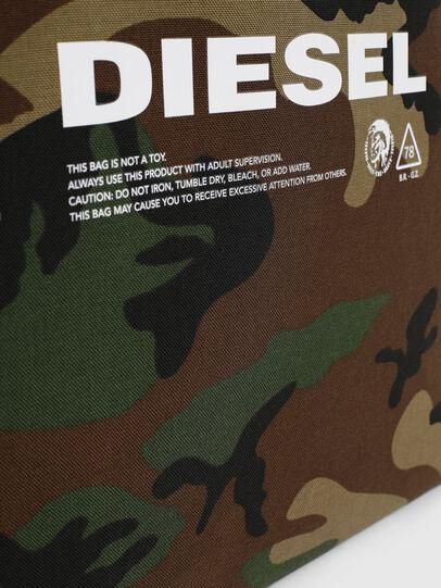 Diesel - D-THISBAG SHOPPER L, Verde Camo - Shopper e Borse a Spalla - Image 4