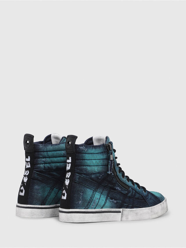 Diesel - D-VELOWS MID LACE, Turchese - Sneakers - Image 3