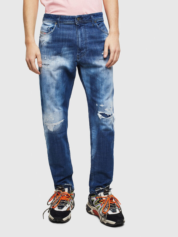 Narrot JoggJeans 0099S, Blu Scuro - Jeans