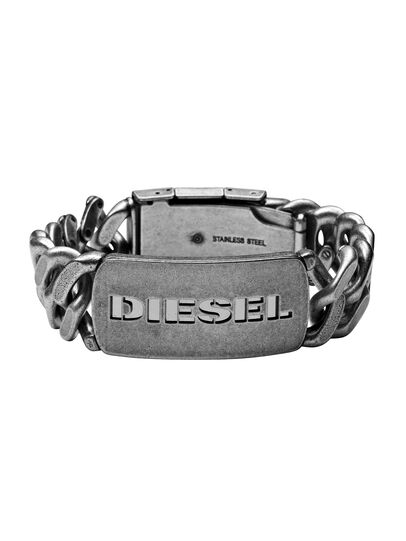 Diesel - BRACELET DX0656, Argento - Braccialetti - Image 1