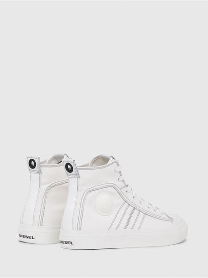 Diesel - S-ASTICO MID LACE, Bianco - Sneakers - Image 3