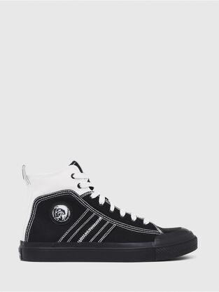 newest 106cb 5ad3e S-ASTICO MID LACE, Nero Bianco - Sneakers