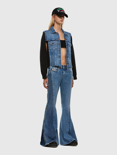 Diesel - D-Ferenz 009JD, Blu Chiaro - Jeans - Image 7
