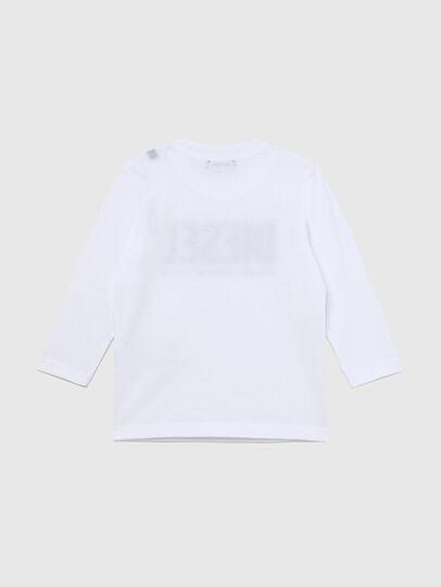 Diesel - TJUSTLOGOB ML-R, Bianco - T-shirts e Tops - Image 2