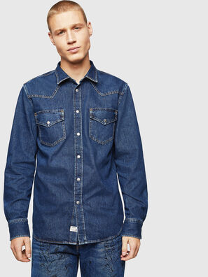D-EAST-P, Blu medio - Camicie in Denim