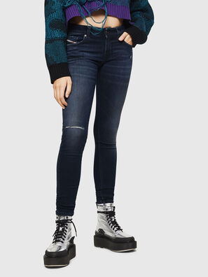 Slandy Low 0870C, Blu Scuro - Jeans
