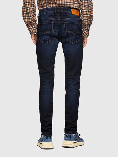 Diesel - Sleenker 009EY, Blu Scuro - Jeans - Image 2