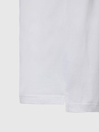 Diesel - T-JUST-SLITS-X85, Bianco - T-Shirts - Image 4