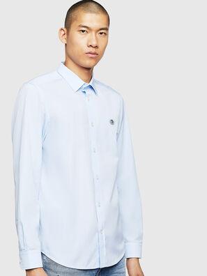 S-BILL, Azzurro - Camicie