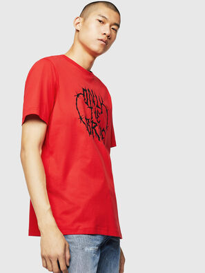 T-JUST-B23, Rosso Fuoco - T-Shirts
