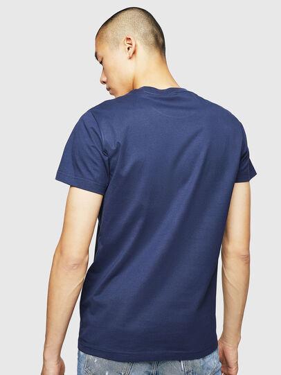 Diesel - T-DIEGO-B6, Blu - T-Shirts - Image 2
