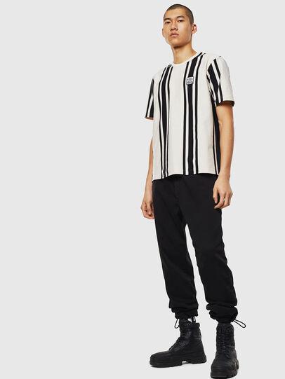 Diesel - T-STRIP-J1, Bianco/Nero - T-Shirts - Image 5