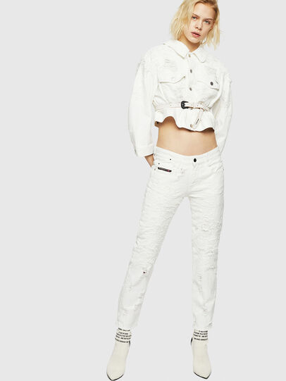 Diesel - D-Rifty 069GY, Bianco - Jeans - Image 7