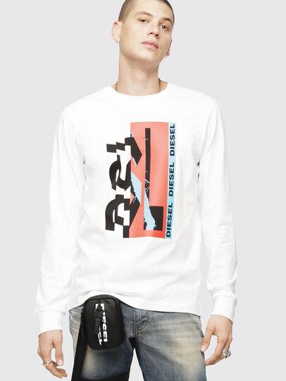 Diesel - T-DIEGO-LS-YA,  - T-Shirts - Image 1