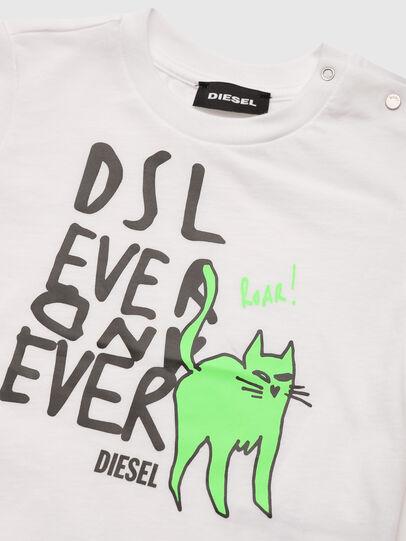 Diesel - TORTUB, Bianco - T-shirts e Tops - Image 3