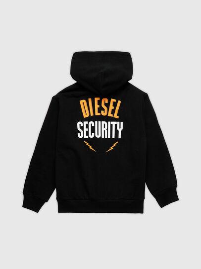 Diesel - SUMMERZIPN72 OVER, Nero - Felpe - Image 2
