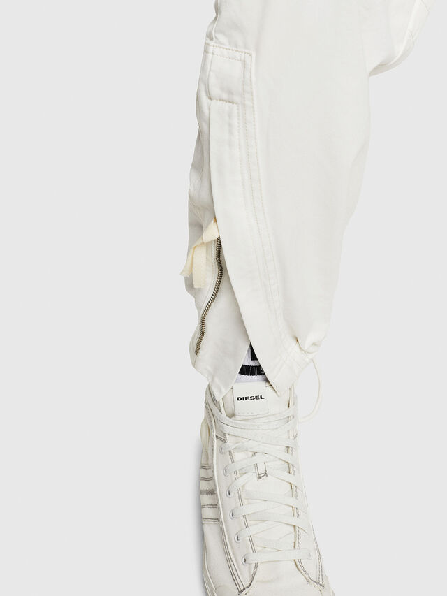 Diesel - P-LUKK, Bianco - Pantaloni - Image 5