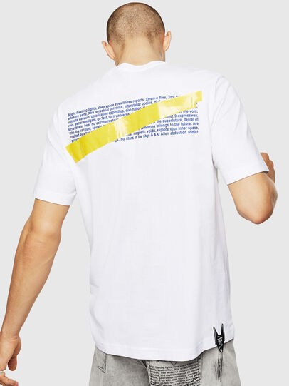 Diesel - T-JUST-A2, Bianco - T-Shirts - Image 2