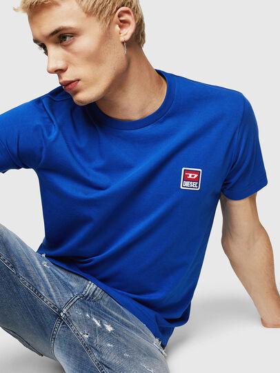 Diesel - T-DIEGO-DIV, Blu Brillante - T-Shirts - Image 3